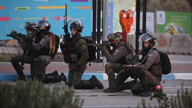 Israeli raid in Ramallah
