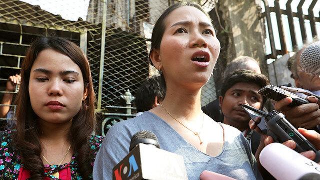Arakanlı Müslümanlara yönelik katliamı ortaya çıkaran gazeteciler: Pan Ei Mon ve Chit Su Win