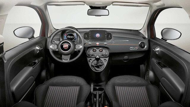 Fiat 500 Collezione Winter serisi