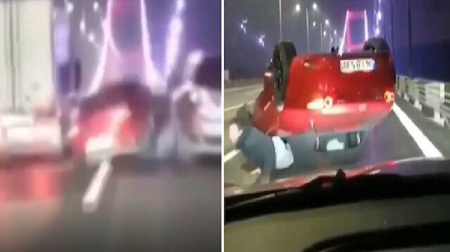 FSM'de makas atıp kaza yapan sürücünün cezası belli oldu