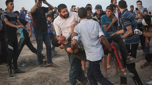 İsrail işgal güçleri yine saldırdı: Bir Filistinli şehit