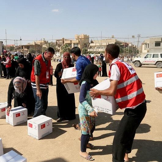 Türk Kızılayı'ndan Yemen'e gıda yardımı