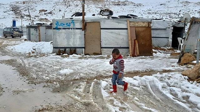حملة تركية لإغاثة اللاجئين السوريين بلبنان من البرد