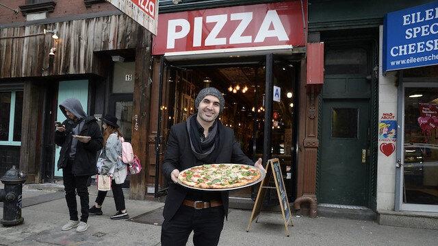 Ünlü Türk pizzacı Hakkı Akdeniz