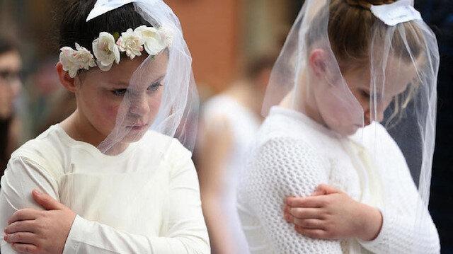 ABD'de son 15 yılda evlenen 200 binden fazla çocuk var.