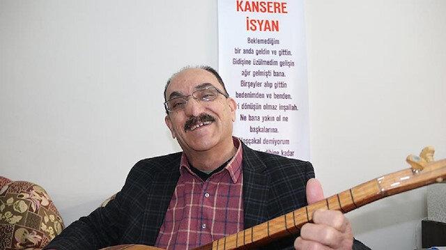 Kanseri yenen 66 yaşındaki Şükrü Abay, Yeniden Yaşam Kanserle Mücadele Derneğini kurdu.