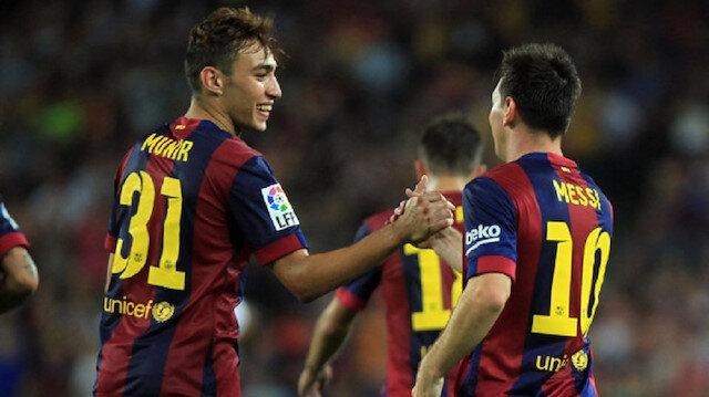 23 yaşındaki Munir Barcelona formasıyla çıktığı 56 maçta 12 gol atarken 11 de asist yaptı.
