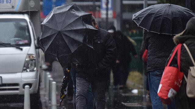 Meteorolojiden bazı illere sağanak ve kuvvetli yağış uyarısı