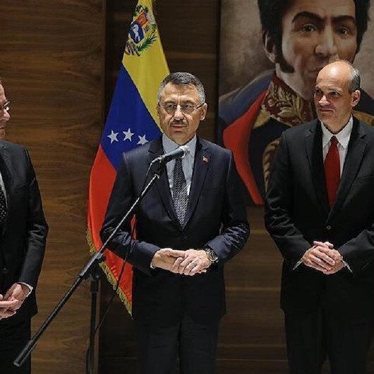 نائب الرئيس التركي يلتقي مسؤولين بفنزويلا