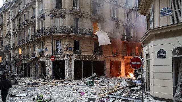 Paris'teki patlama: 4 ölü 36 kişi yaralı