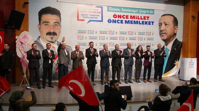 AK Parti'nin Tunceli belediye başkan adayları tanıtıldı