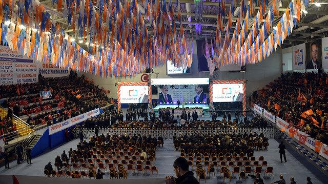 AK Parti'nin Malatya belediye başkan adayları törenle tanıtıldı