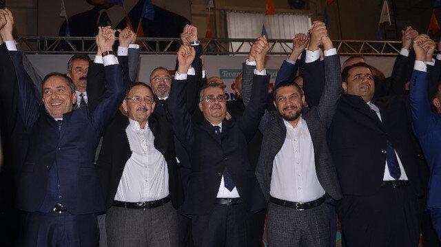 Mehmet Özhaseki AK Parti'nin Çorum adaylarını tanıttı