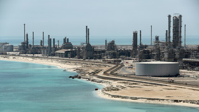 eneral view of Saudi Aramco's Ras Tanura oil refinery