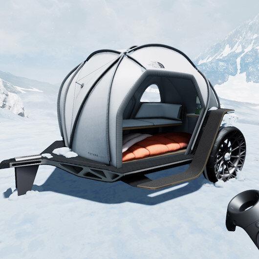Kamp tutkunları için BMW ve The North Face imzalı çadır