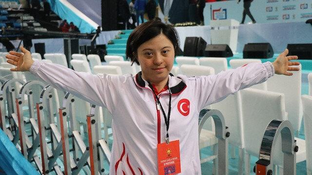 Milli sporcu Fatma Demir: Cumhurbaşkanımızı dünya kadar seviyorum