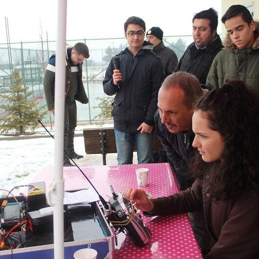 Liselilerin insansız hava aracı testi geçti