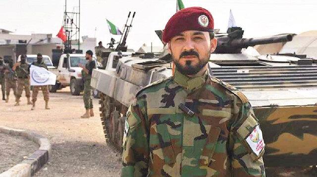 Hamza Tümeni komutanı Seyf Ebubekir