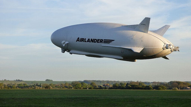 Airlander 10 üretime geçiyor