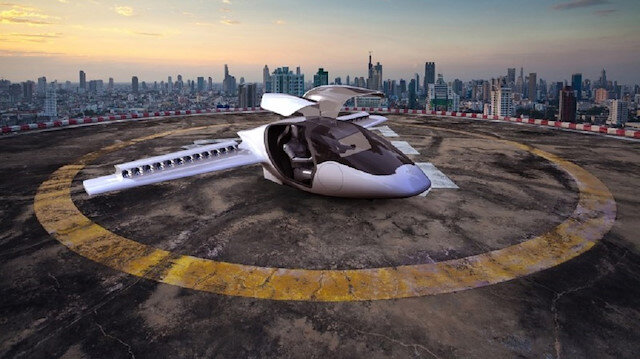 Elektrikle çalışacak taksiler 5 kişiye kadar yolcu taşıyabilecek.