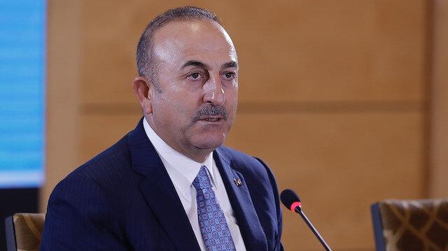 Dışişleri Bakanı Çavuşoğlu.