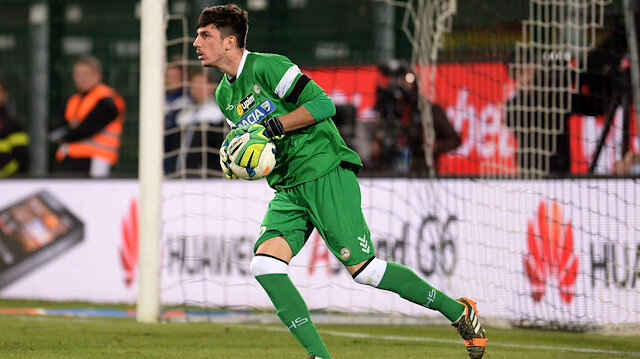 Simone Scuffet bu sezon Udinese forması ile Serie A'da 9 maça çıktı.