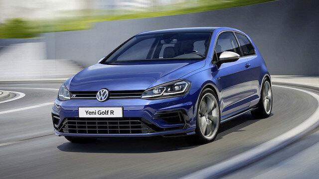 Volkswagen Golf R normal Golf ile aynı tasarıma sahip.