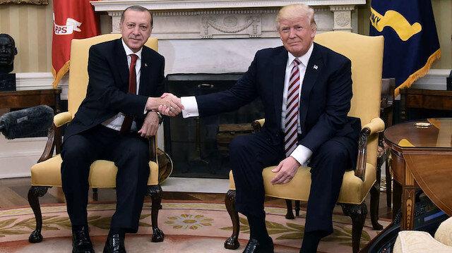 Erdoğan ile Trump'tan kritik Suriye görüşmesi