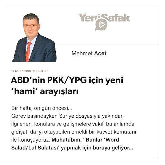 ABD'nin PKK/YPG için yeni 'hami' arayışları