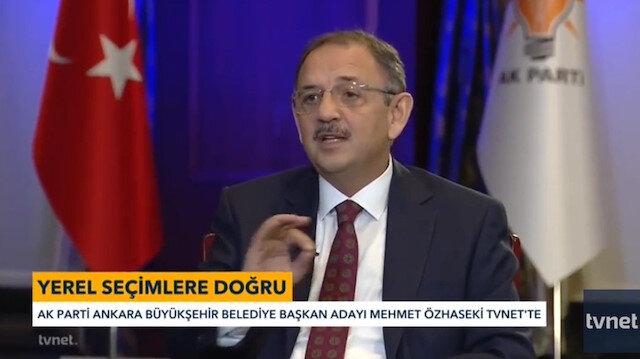 Mehmet Özhaseki: İhaleler canlı yayınlanacak