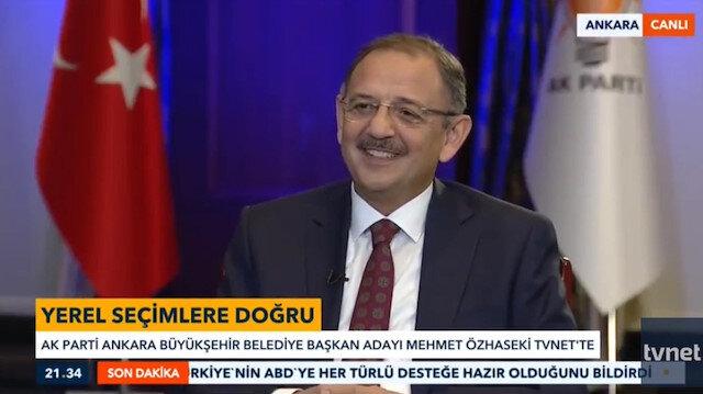 Mehmet Özhasekiden Mansur Yavaş açıklaması