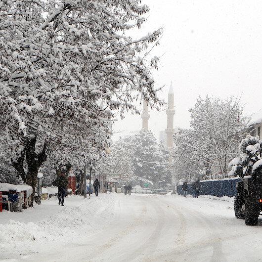 5 günlük Tunceli hava durumu: Tunceli'de kar esareti