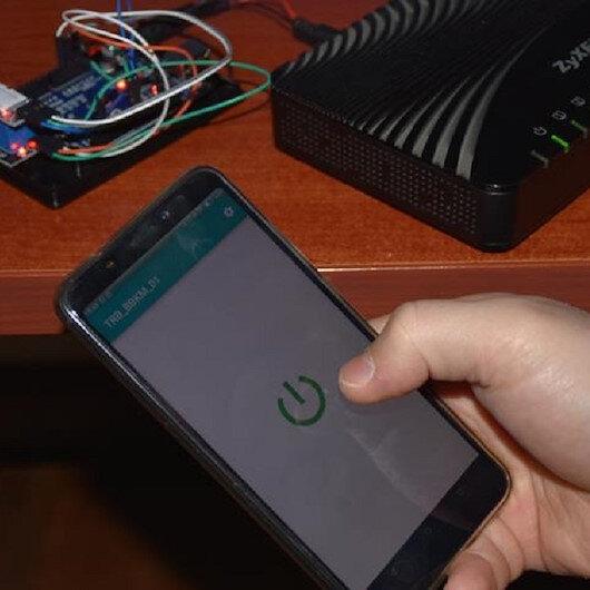 Kablosuz ağ modemini cepten kontrol edecekler