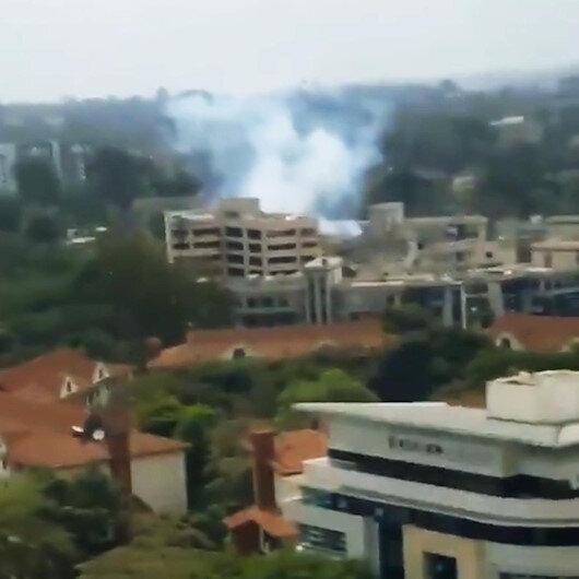 Kenya'da patlama: Silah sesleri geliyor