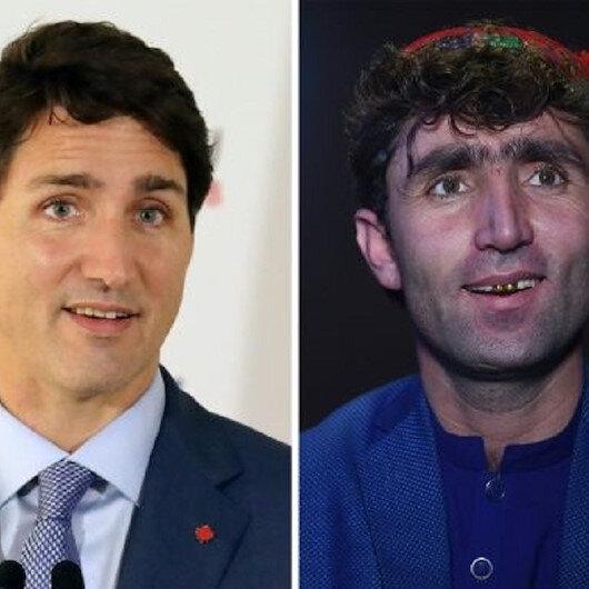 شاهد: مغن أفغاني تسعفه حظوظه نحو الشهرة السريعة لأنه يشبه رئيس وزراء كندا