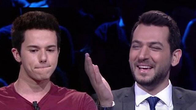 Murat Yıldırım, kendisini gülmekten alamayınca stüdyo bir anda kahkahaya boğuldu.