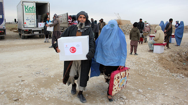 Turkish aid group helps conflict victims in Afghanistan