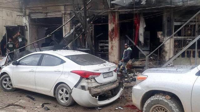 Münbiç'te bombalı saldırı