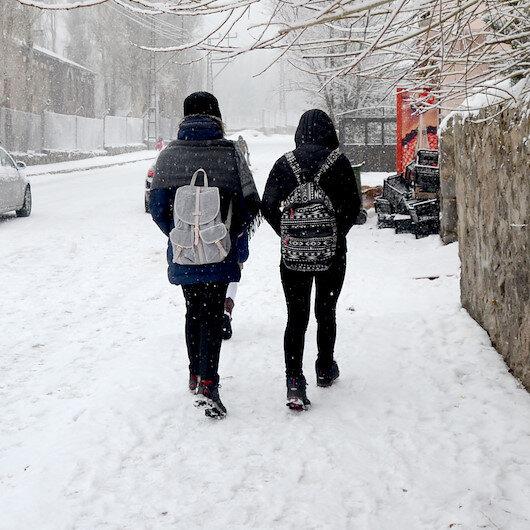 Konya'nın 13 ilçesinde okullar tatil