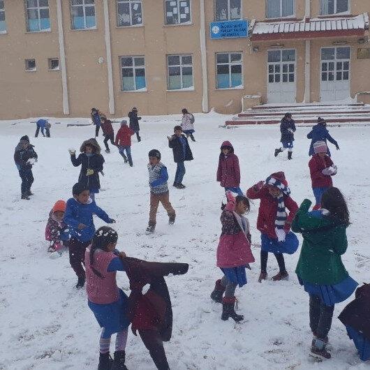 36 ilde okullar tatil