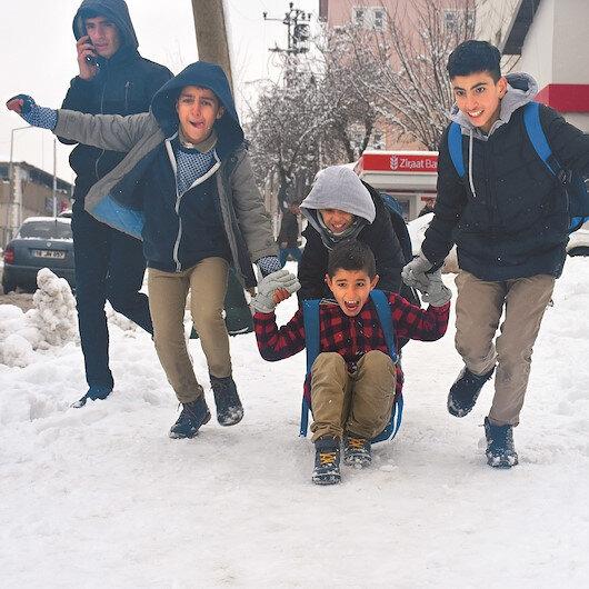 Çorum ve Samsun'da okullara kar tatili