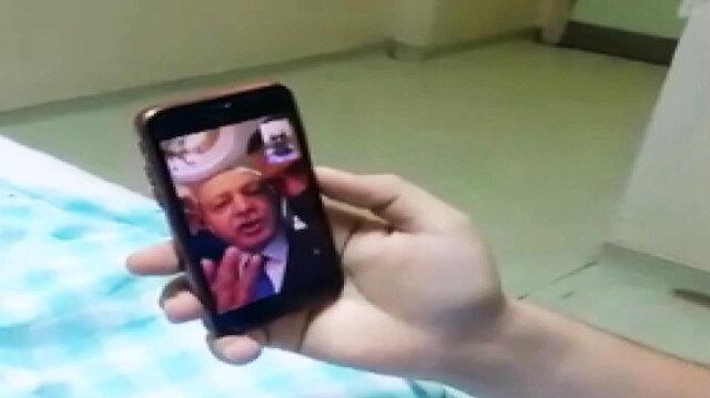 Erdoğan ve Soylu lösemi tedavisi gören gençle telefonda görüştü