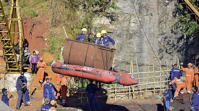Body of 1 of 15 miners found in collapsed mine in India