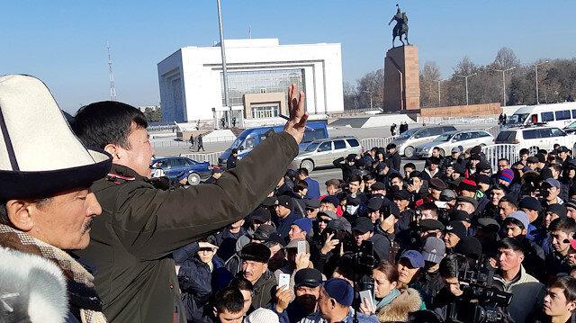 Kyrgyz police disperse anti-Chinese rally