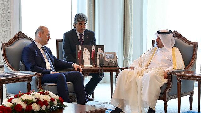 مباحثات قطرية تركية حول تعزيز أواصر الصداقة