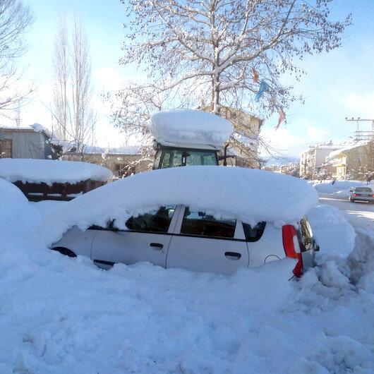 5 günlük Kahramanmaraş hava durumu: Yoğun kar yağışı