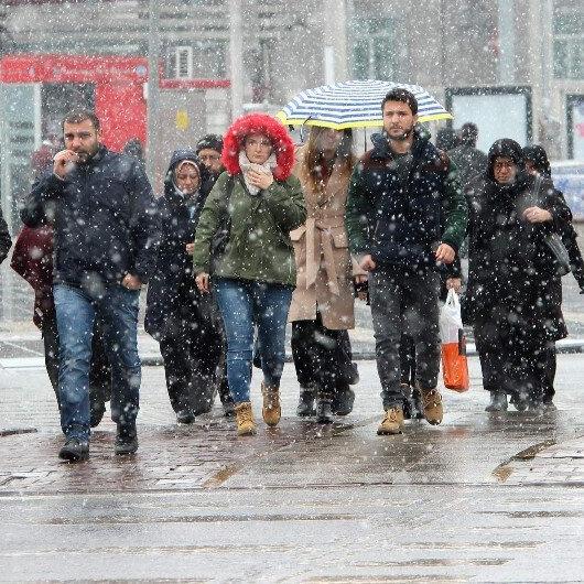 Ankara ve birçok ile kar uyarısı
