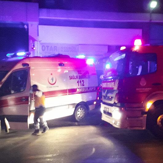 Başakşehir'de sanayi sitesinde yangın: 1 ölü