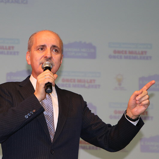 Kurtulmuş: AK Parti dünyanın bütün garibanlarının partisidir