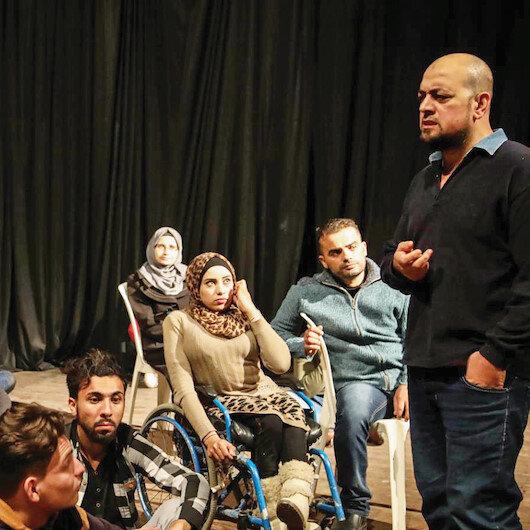 Filistin ruhunu sahneye taşıdı